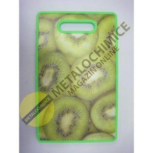 Tocator dreptunghiular kiwi din plastic