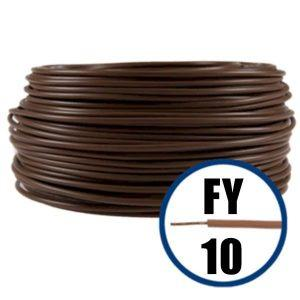 Conductor FY 10 - 100 m - MARO - Cablu curent cupru plin - H07V-U