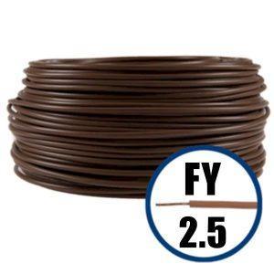 Conductor FY 2.5 - 100 M - MARO - Cablu curent cupru plin - H07V-U