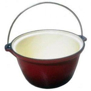 Ceaun fonta emailat 25cm / 5 litri - Tuci fonta