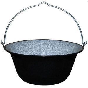 Ceaun tabla emailata 33cm/8 litri, tuci