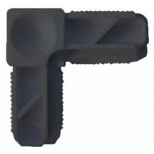 Coltar plastic gri pentru profil - Plase insecte