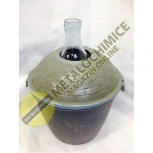 Damigeana 25 litri in cos din plastic
