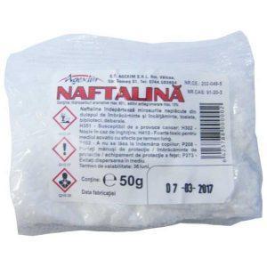 Naftalina cristale 50g