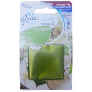 Rezerva, odorizant gel, Glade Discreet, Lemn de santal bali, 8g