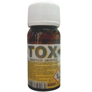 Sanitox insecticid universal,otrava gandaci, plosnite, purici, muste, tantari, molii, omizi, 40ml