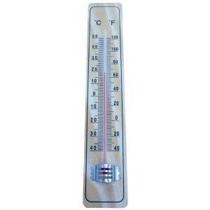 Termometru exterior, Lemn