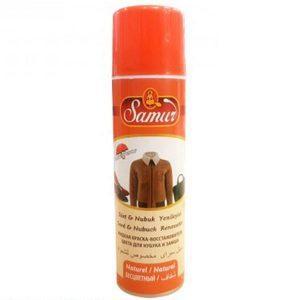 Vopsea spray, piele intoarsa, impermeabil, incolor, 250ml